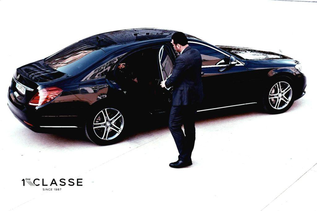 concierge service chauffeured car 1ere classe since 1987
